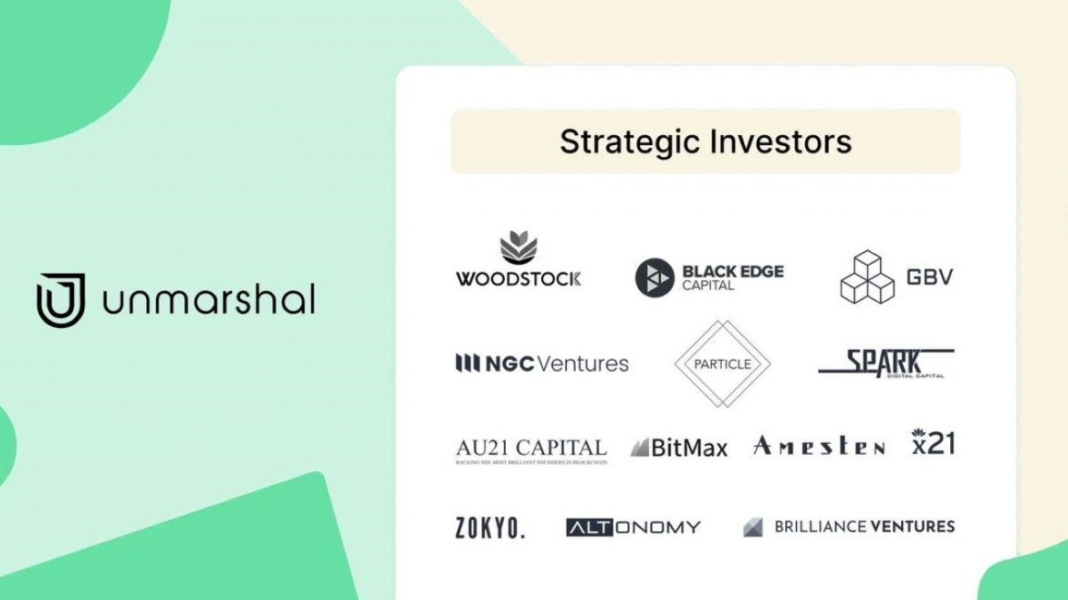 Unmarshal Raises $2.6M USD From Industry Heavyweights to Build Multi-Chain Data Indexing Protocol