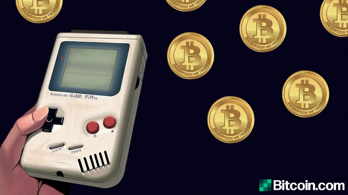 Youtuber Builds a Bitcoin Miner Out of a 31-year old Nintendo Game Boy