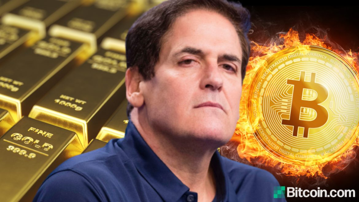 Mark Cuban Argues Bitcoin Is Better Than Gold, Telling Peter Schiff 'Gold Is Dead, Move on'