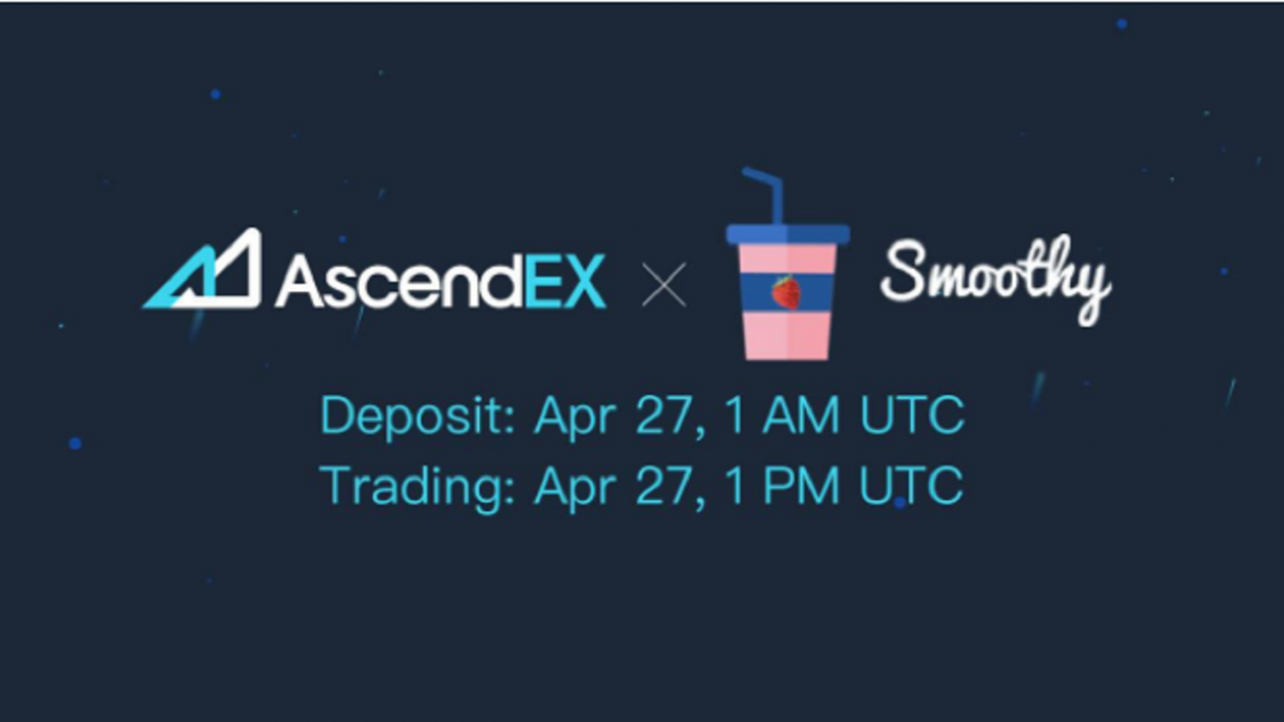 Smoothy Listing on AscendEX