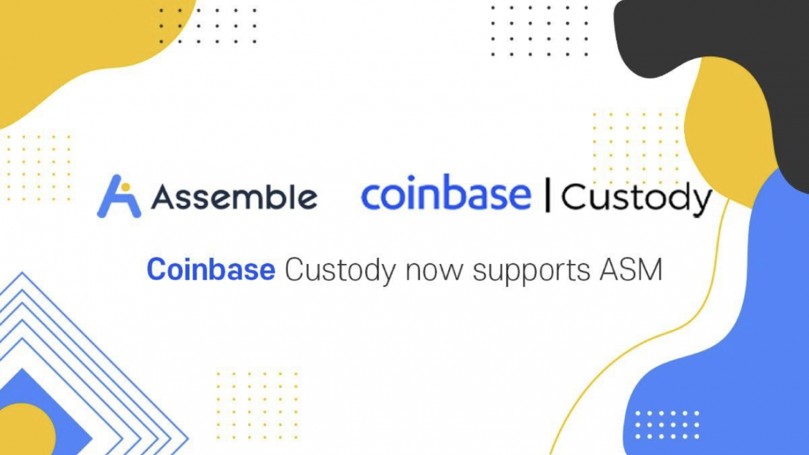 ASSEMBLE Protocol (ASM) Is Now Supported on Coinbase Custody