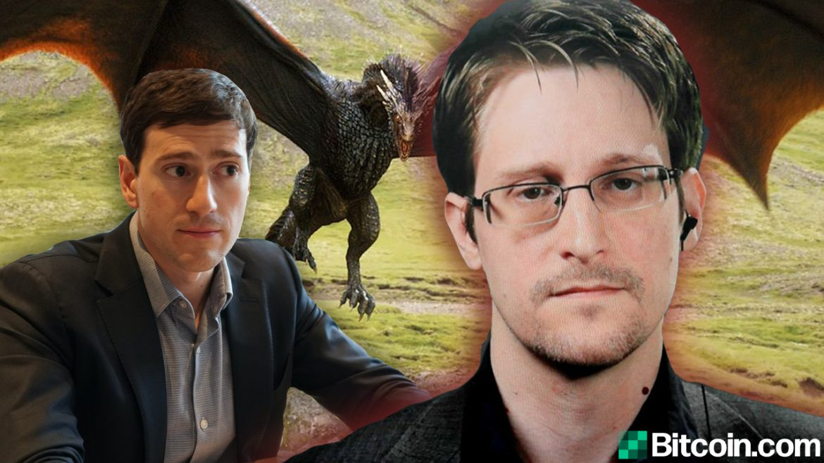 Edward Snowden Knocks Alex Gladstein's Crypto Critique- 'Worst Part of Dragon-Level Wealth Is People Devolve Into Dragons Themselves'