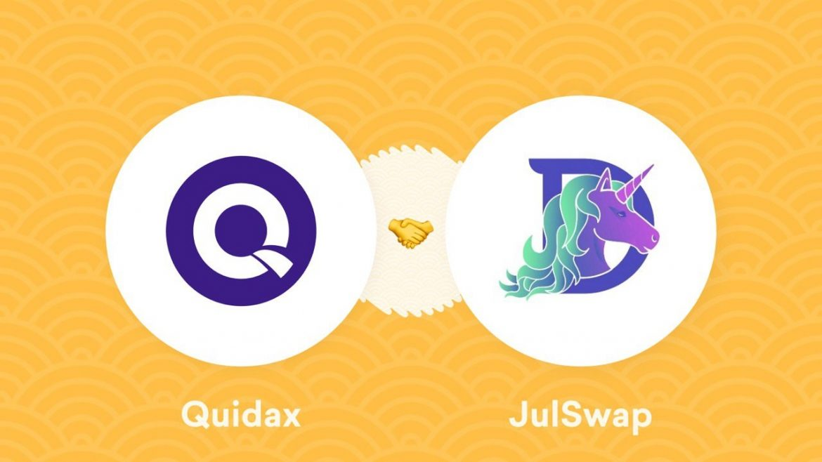 African Founded Crypto Exchange, Quidax Partners With Popular Defi Platform, JulSwap