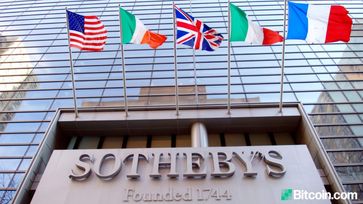 Top Auction House Sotheby's to Accept Cryptocurrencies via Coinbase for Physical Art