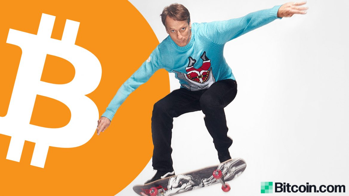 Tony Hawk Purchased Bitcoin in 2012 After Reading About the Silk Road Marketplace