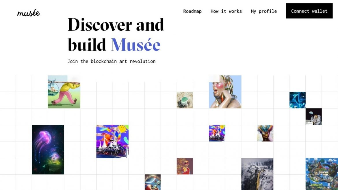 Musée – the User Owned NFT Marketplace and Gallery